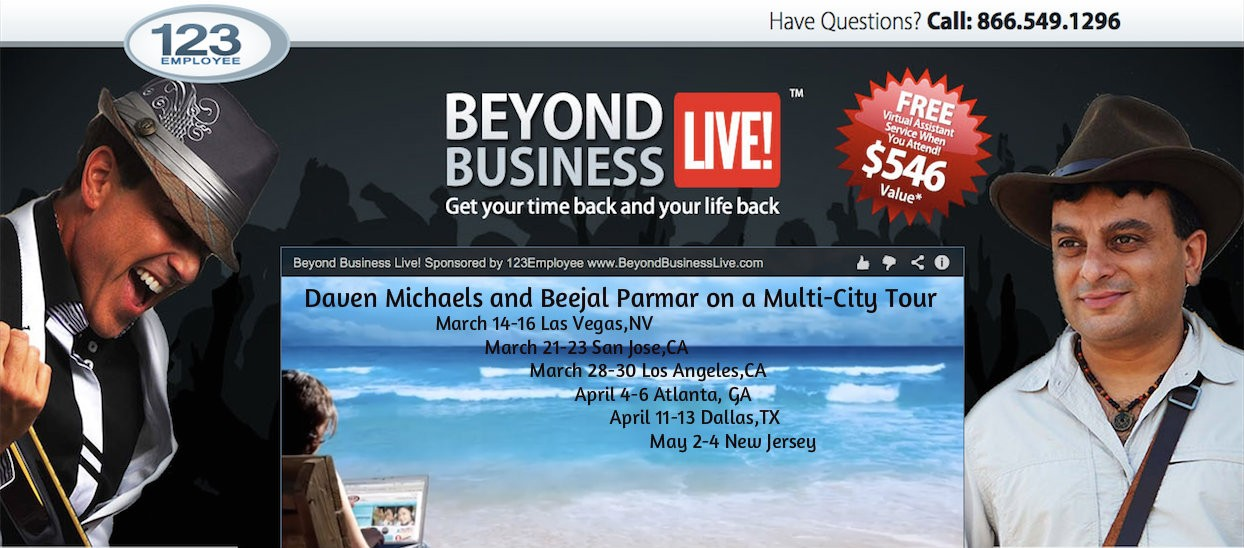 Beyond Business Live - Multi City Tour